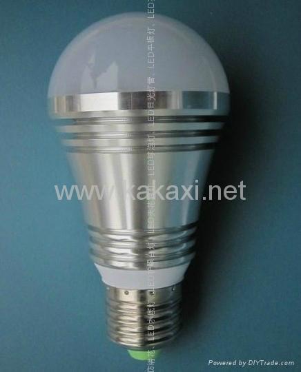 E27 3W LED 燈泡 球泡 1