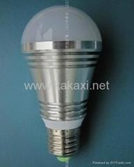 E27 3W LED 灯泡 球泡