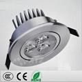 3W  LED 天花射燈