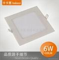 Square 6 w LED Panel Light