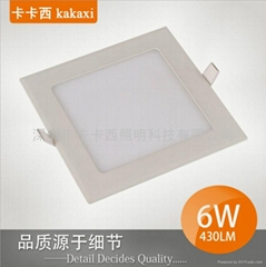 方形 6W LED 面板燈