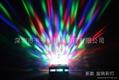 E27 3W LED Colorful Rotating Light Bulb