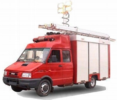 Fire truck DMT-FF-IVECO-1