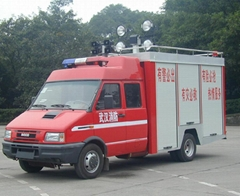Fire fighting cars DMT-FF-IVECO-3