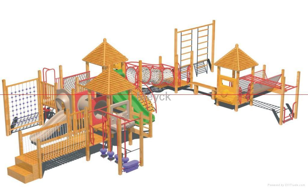 Outdoor swing sets, wood swing sets & playground equipment