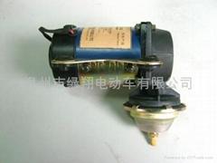 108VDC ELECTRIC BRAKE VACUUM PUMP