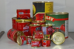 HALAL certificated canned toamto paste