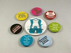 Round Button Badges 25mm