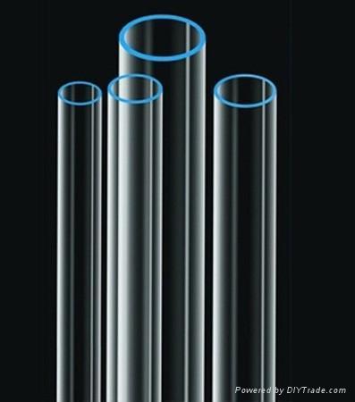 UV-stop Glass Quartz Tube  5