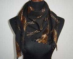 pashmina jacquard scarf