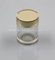 new round acrylic jar