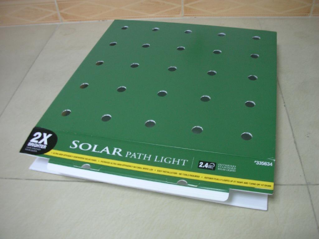 LED燈具塑料中空板盒 1