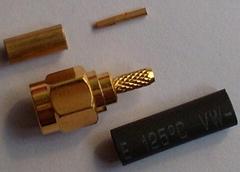 SMA射频同轴连接器出口标准