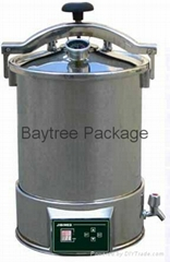 JY Series Portable Stainless Steel Steam Sterilizer