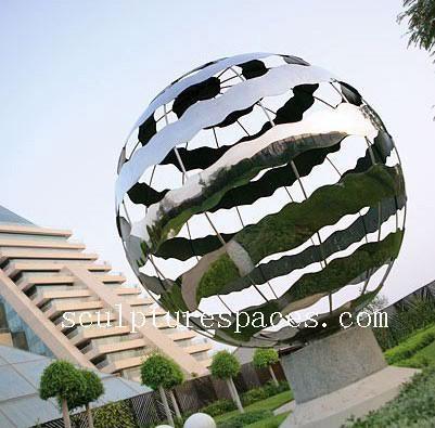 stainless steel  globe 1