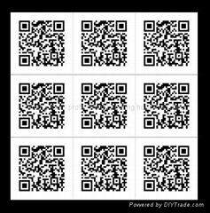 2D code label printing
