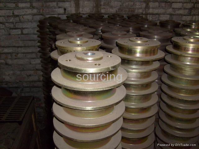 Auto parts ductile iron brake drum