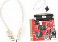 PC Diagnostic Card Analyzer POST w/ USB Cable PT090C New