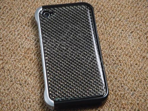 apple iphone 4 bumper case. apple iphone 4 4G real carbon