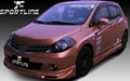 PU auto body kits For 08 09 NISSAN TIIDA HATCHBACK /NISSAN LATIO SPORTS