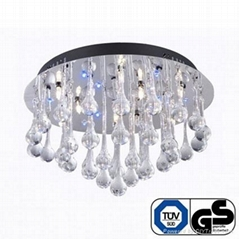 LED remote control ceiling lamp