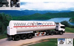 Cryogenic Liquid Transporting Semi-trailer