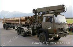 原木运输车 2