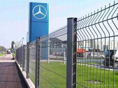 桃型柱围网围栏