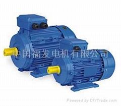 MS series three-phase asynchronous motors with aluminium housing