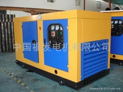 EPA series low noise single-phase/three-phase diesel generating sets