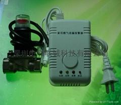 燃氣洩露探測器管道聯動電磁閥