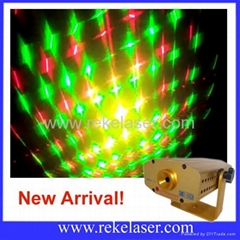Sound activated and Auto Played Red and Green Mini Laser Lighting( Mini-11/12)