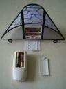 Remote LED wall lamp