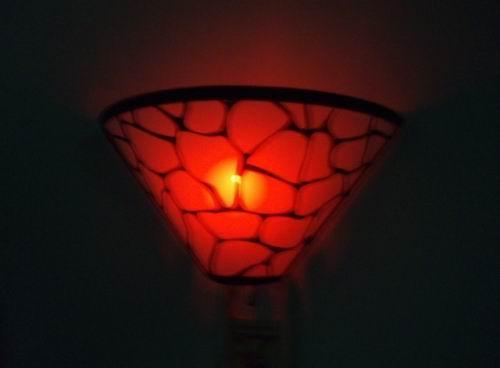 Remote LED wall lamp  2