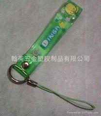 PVC手機飾品