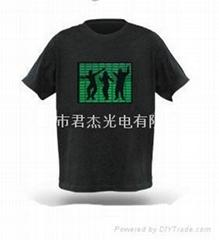 声控发光T恤