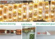 LED软灯条防水胶