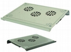 Low noise  notebook cooling pad