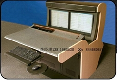The new console, TV wall, sheet metal processing equipment boxes outdoors