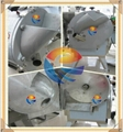 electric commercial root vegetable slicing stripping dicing machine  3
