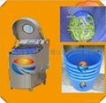 centrifugal speed adjustable salad vegetable and fruit dewater drying machine 1