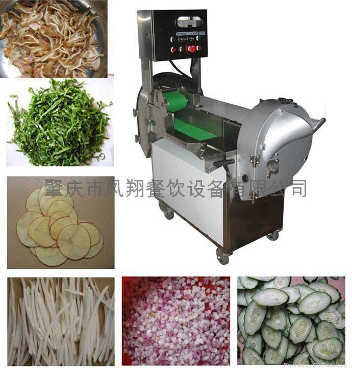 Vegetable cutting machine 1