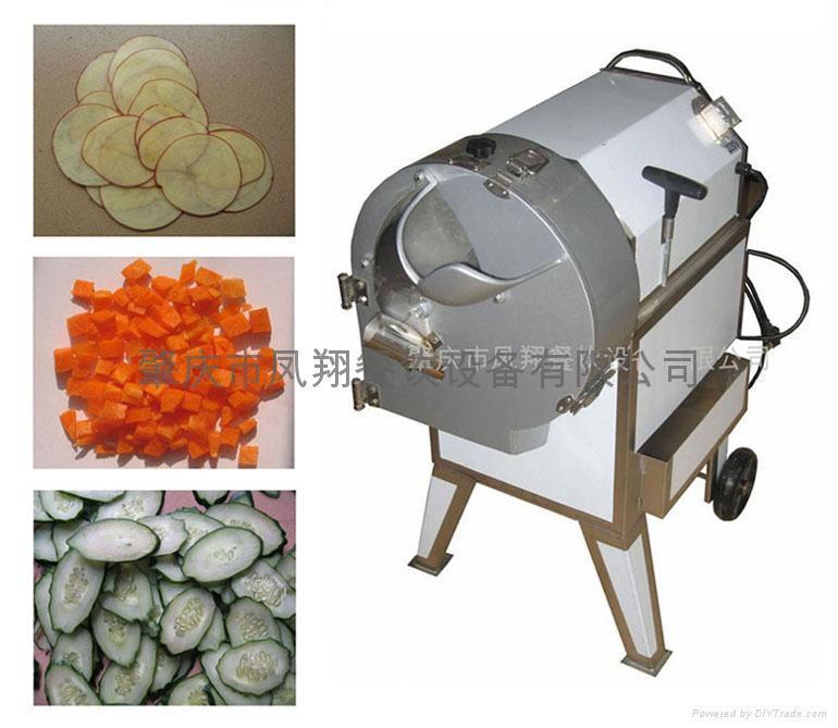 飯堂適用球莖類蔬菜切片切絲切丁機 1