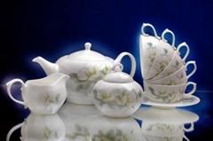 骨瓷咖啡具陶瓷