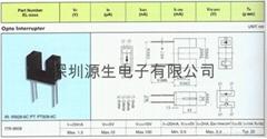 EVERLIGHT光电开关ITR-9608