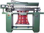 computerized intarsia flat knitting machine