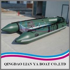 Inflatable boat,rib boat,rigid boat-Lian Ya UB470