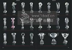 上海水晶獎杯製作