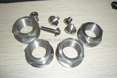 Ti Rear Axle Nuts - 749