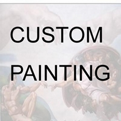 Custom Made Portrait photo to handmade Oil Painting